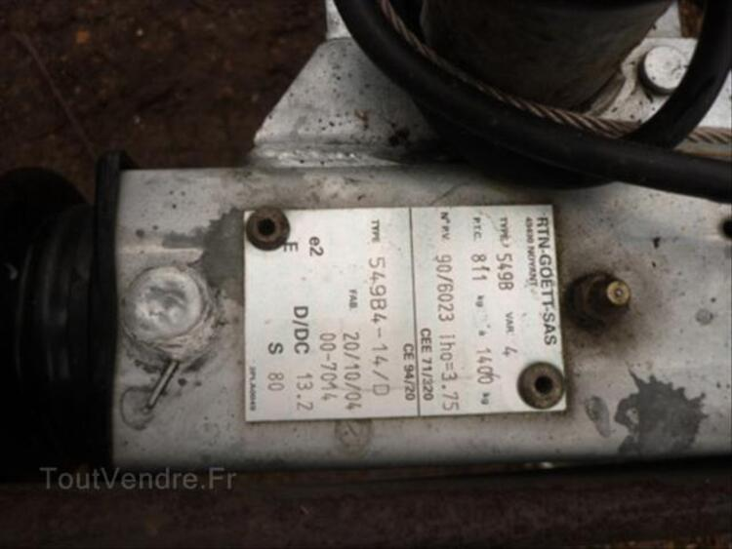 Remorque bateaux modulable 64479637