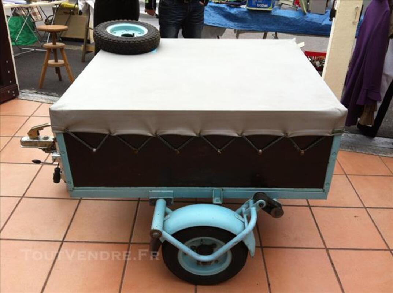 Remorque Erka,175 kgs,bagagère excellent état 84456027