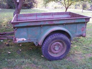 Remorque militaire de jeep US