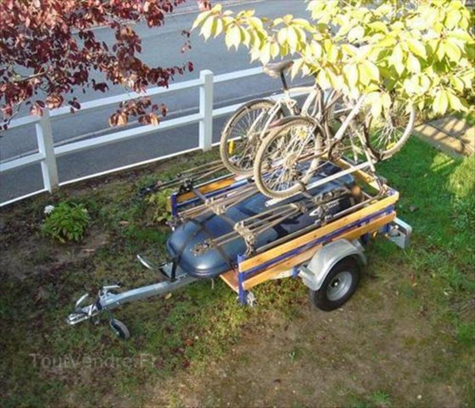 Remorque porte velo moto bagage coffre de toit 64576594
