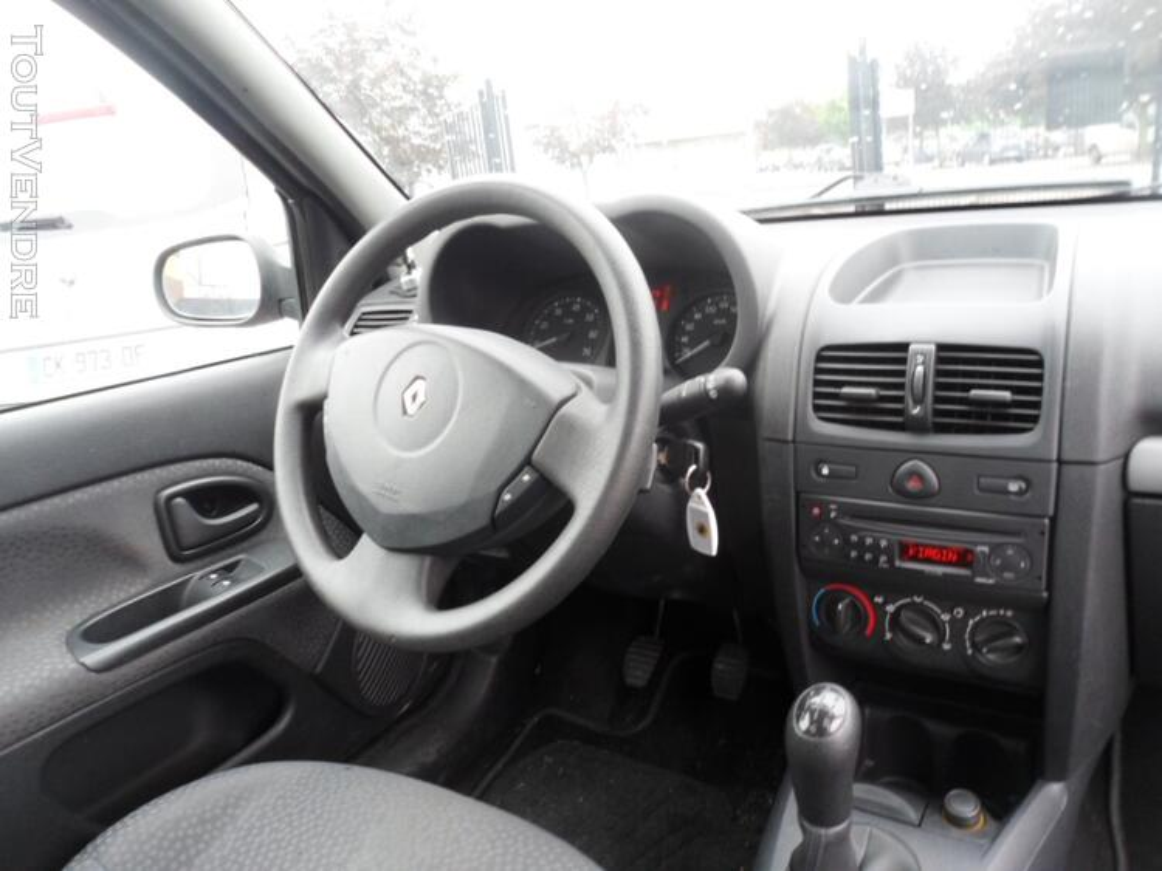 Renault clio 2 1.5 dci clim + regulateur 2 places 131882146