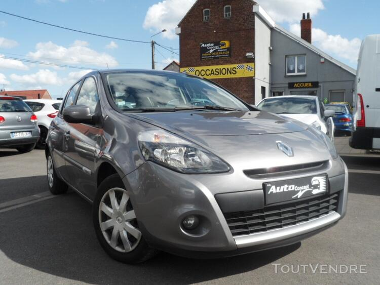 Renault clio 3 1.5 dci 1ere main 2012 60840 kms 128262921