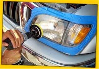 Rénovation d'optiques de phares, Auto et Moto à domicile