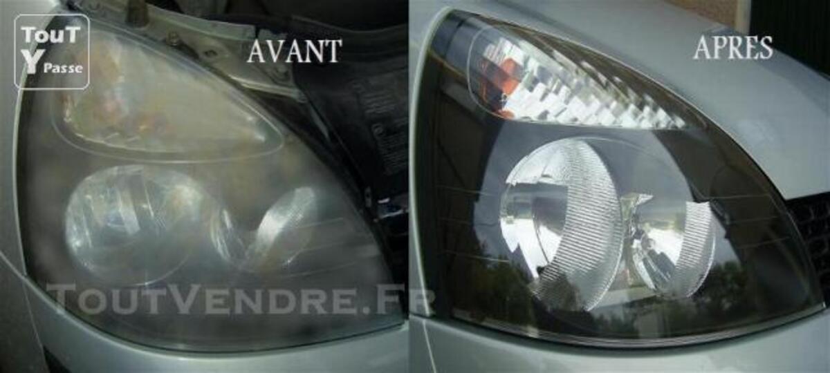 Rénovation d'optiques de phares, Auto et Moto à domicile 78060360