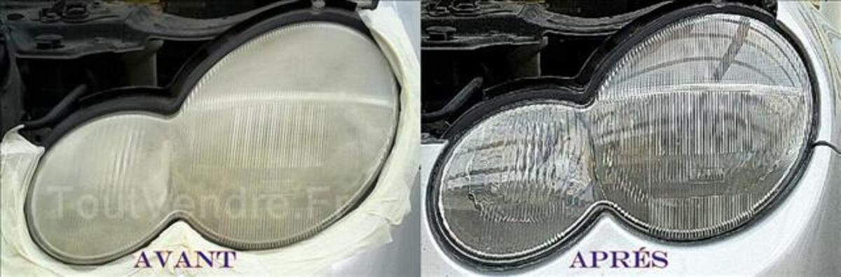 Renovation des optiques de phares automobile 35515177