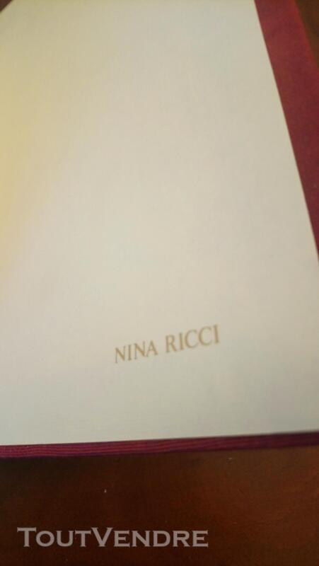 Répertoire Alphabétique NINA RICCI 340561358