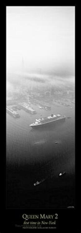 Reproduction QUEEN MARY 2 First time in New-York 76578776