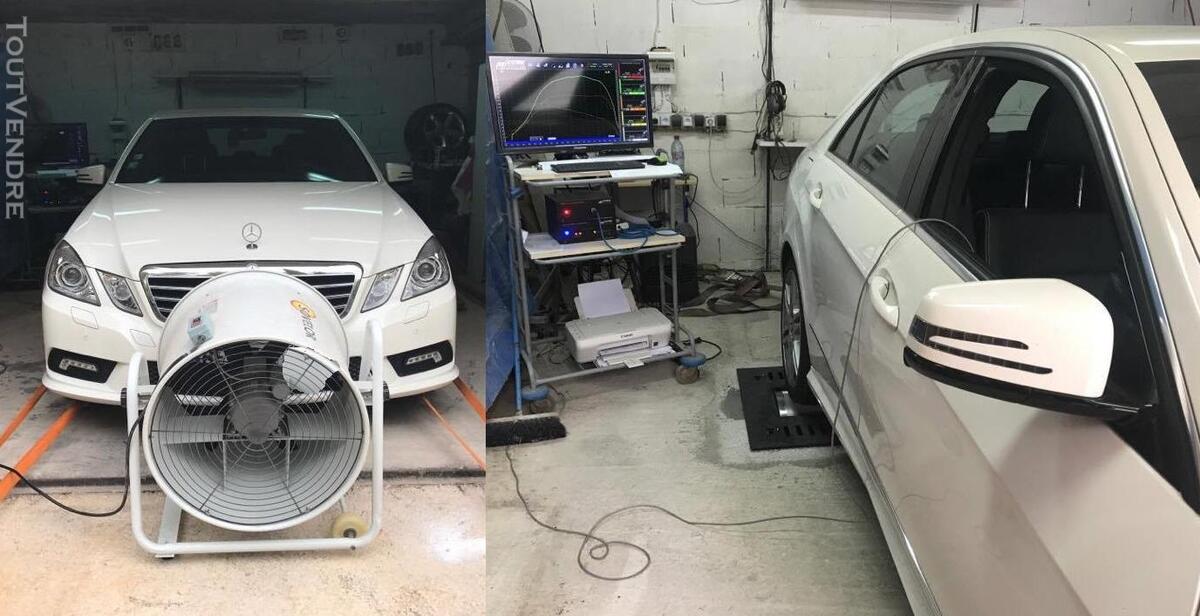 Reprogrammation moteur chiptuning sur banc de puissance 309363150