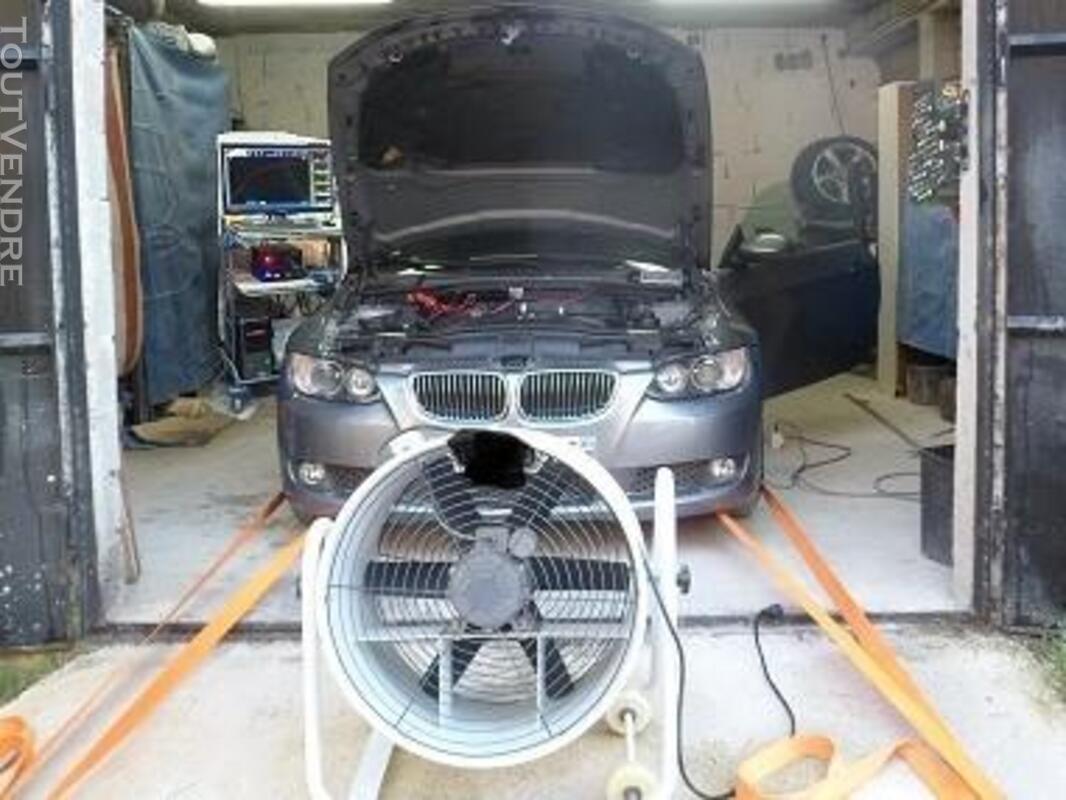 Reprogrammation moteur chiptuning sur banc de puissance 309363152