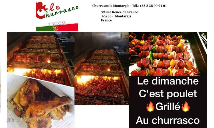 RESTAURANT - CHURRASQUEIRA Industrielle 324821258