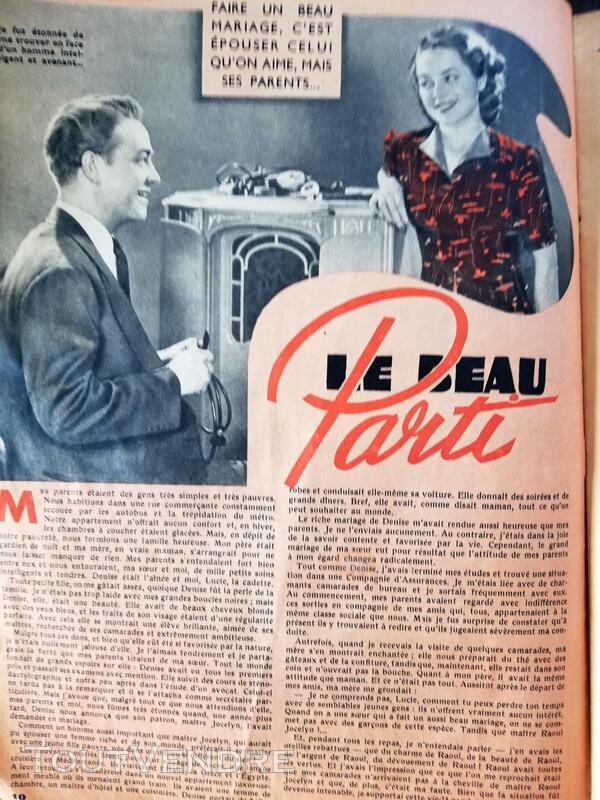 Revue Confidences 16 février 1940 660167458