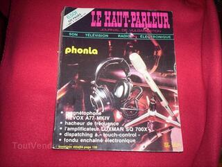 Revue le haut parleur  n1503 mai 1975. 520 pages