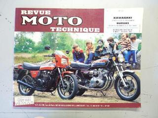 REVUE MOTO TECHNIQUE (RMT N° 42)  Z400 Z500 GS 850 1000