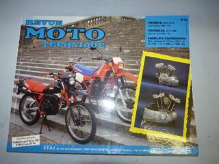 REVUE MOTO TECHNIQUE (RMT N° 65)  MTX50A DT50MX
