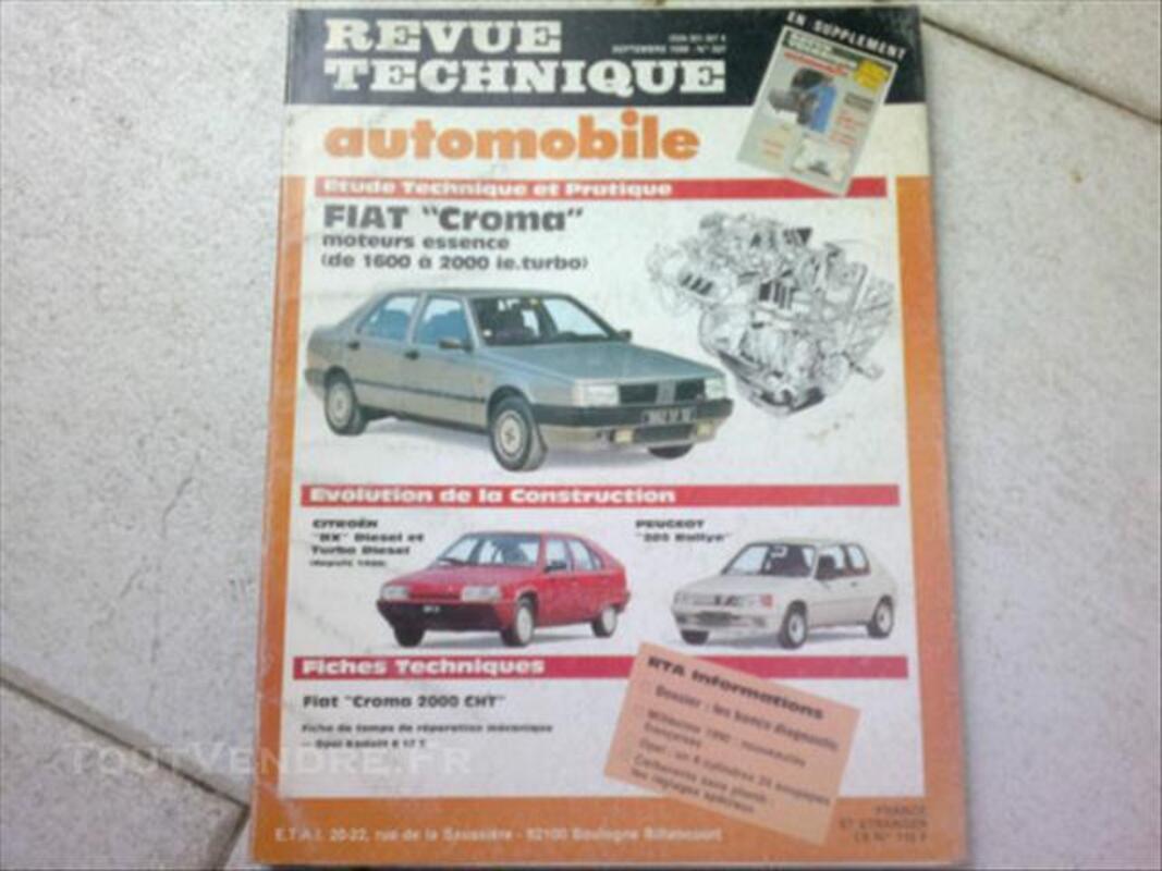 Revue technique automobile fiat croma 74004925
