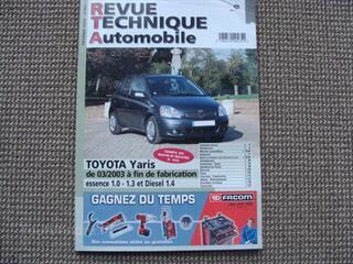 Revue technique automobile toyota yaris