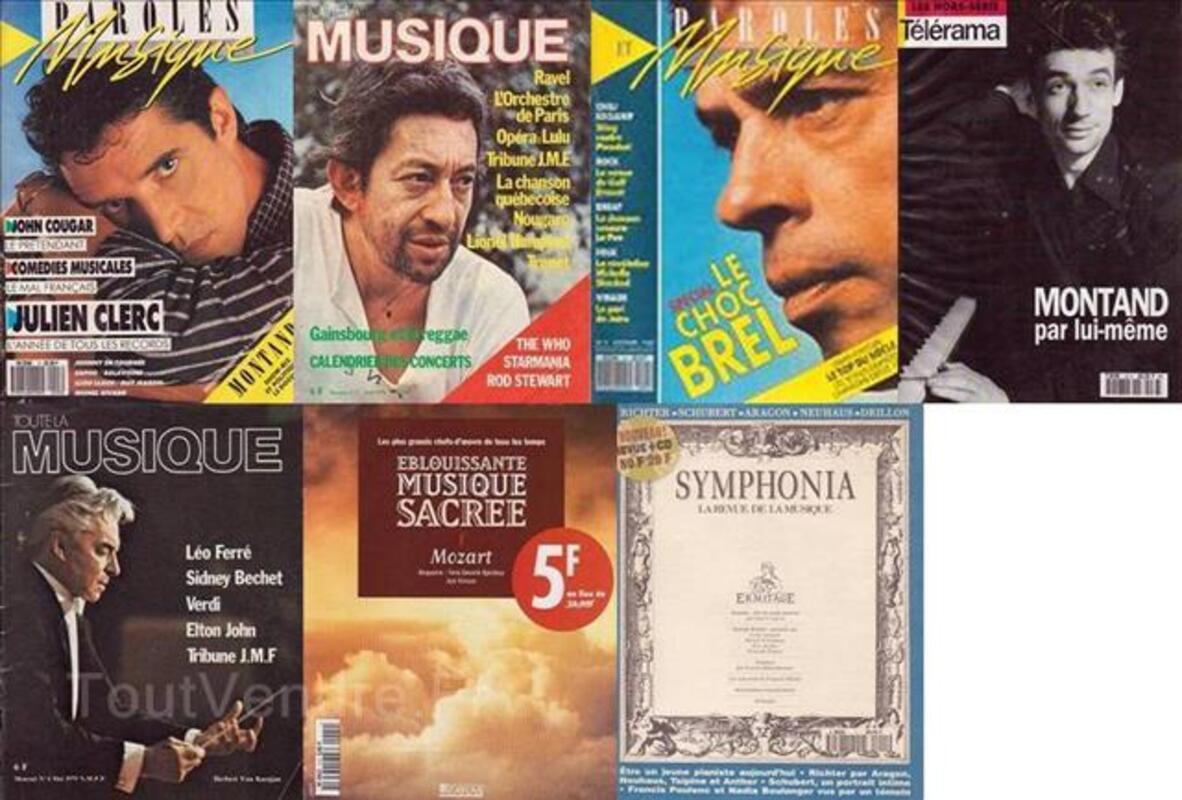 REVUES MUSIQUE -Jazz, Blues, Paroles et Musique- (Année 197 97540021
