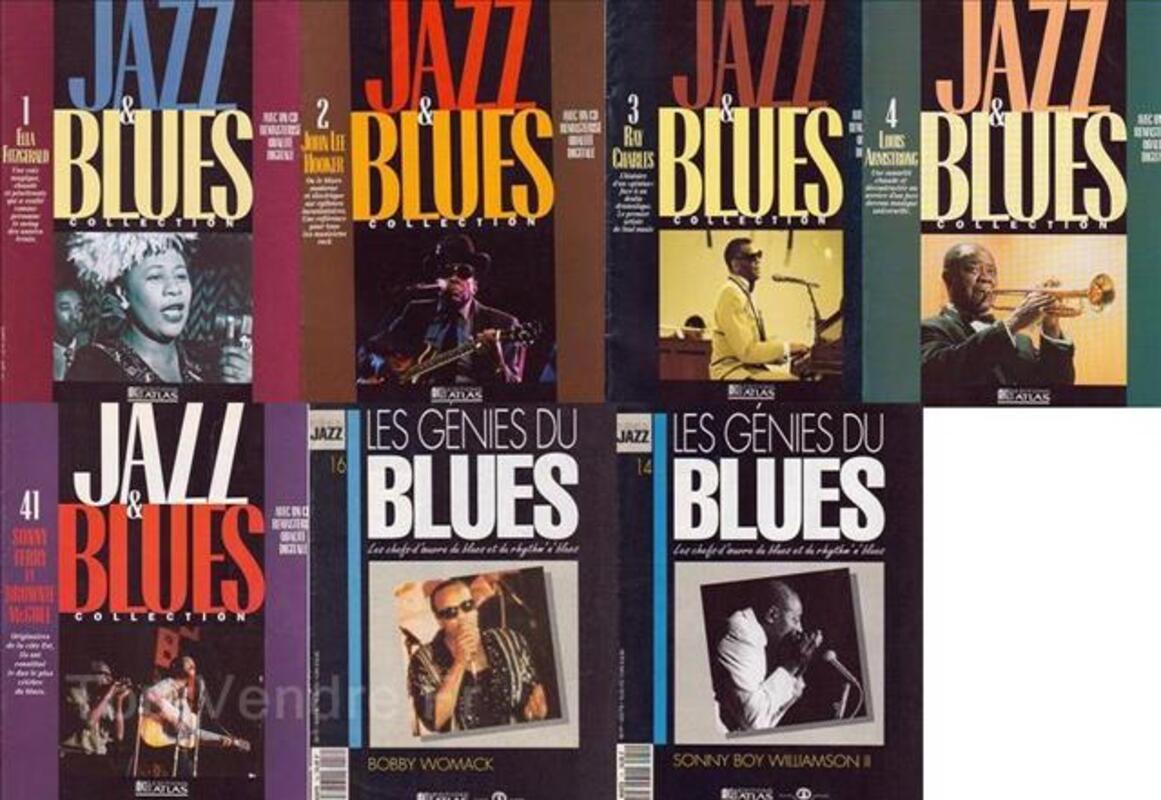 REVUES MUSIQUE -Jazz, Blues, Paroles et Musique- (Année 197 97540022