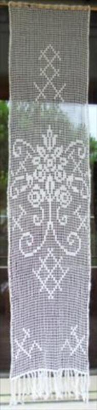 Rideaux coton macramé 46692537