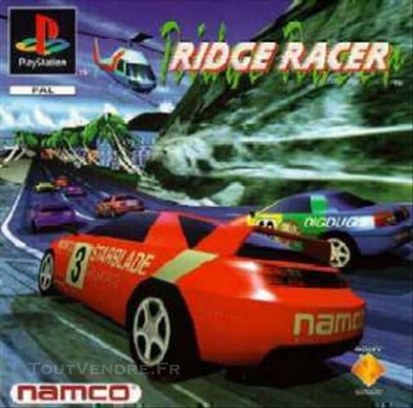 Ridge racer jeu playstation 1 tout premier sortit psx 77370753