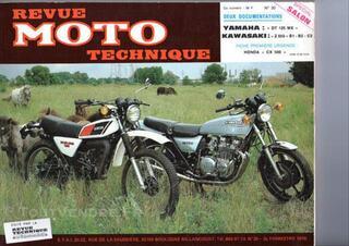 RMT N° 30 - YAMAHA DT 125 MX - KAWASAKI Z 650 -