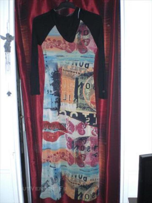 Robe Cache-cache T.40 très colorée 85575337