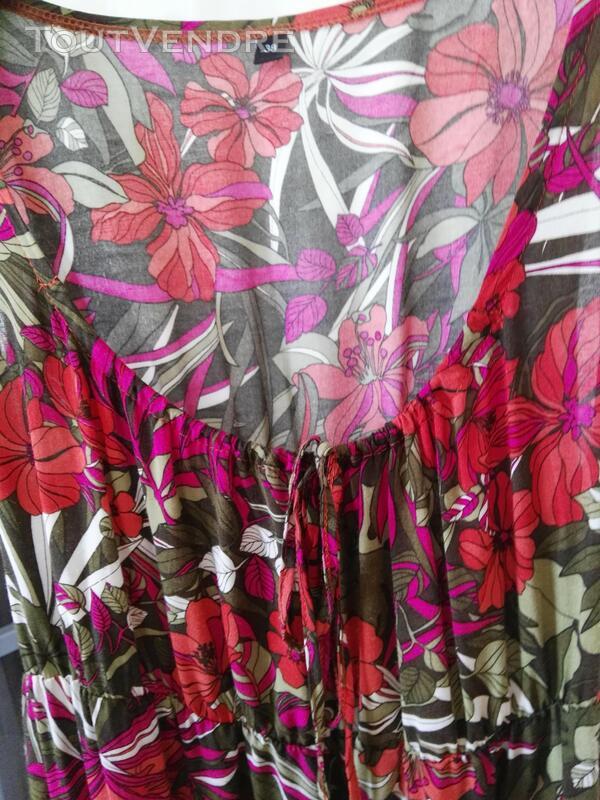 Robe fleurie en coton 561938685