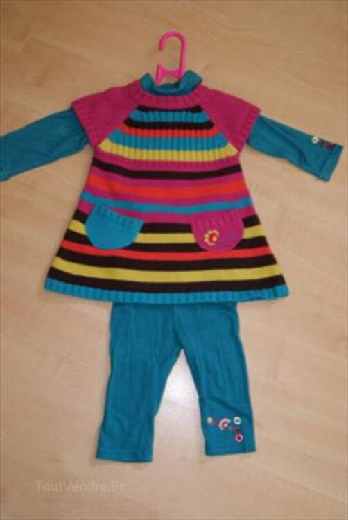 Robe+ legging+ T shirt, ORCHESTRA, taille 6 mois 54710521