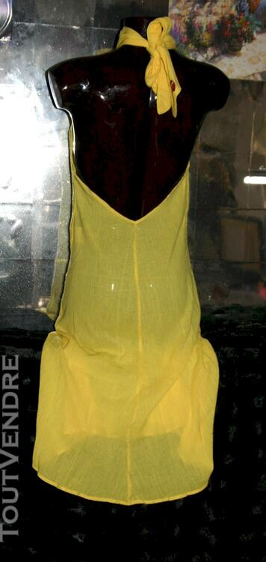 Robe Longue Décolletée Dos Nu cou Sexy marque DIESEL 36 38 114985348