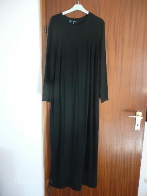 Robe longue noire grossesse FORMES Paris, taille 42 93817235