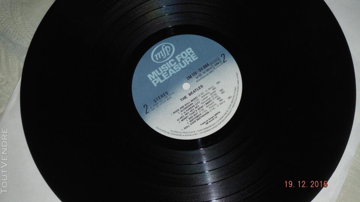 ROCK & ROLL - THE BEATLES et J.LENNON- coffret 3 disques vin 170685828