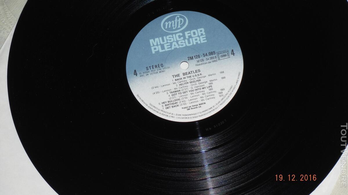 ROCK & ROLL - THE BEATLES et J.LENNON- coffret 3 disques vin 170685837