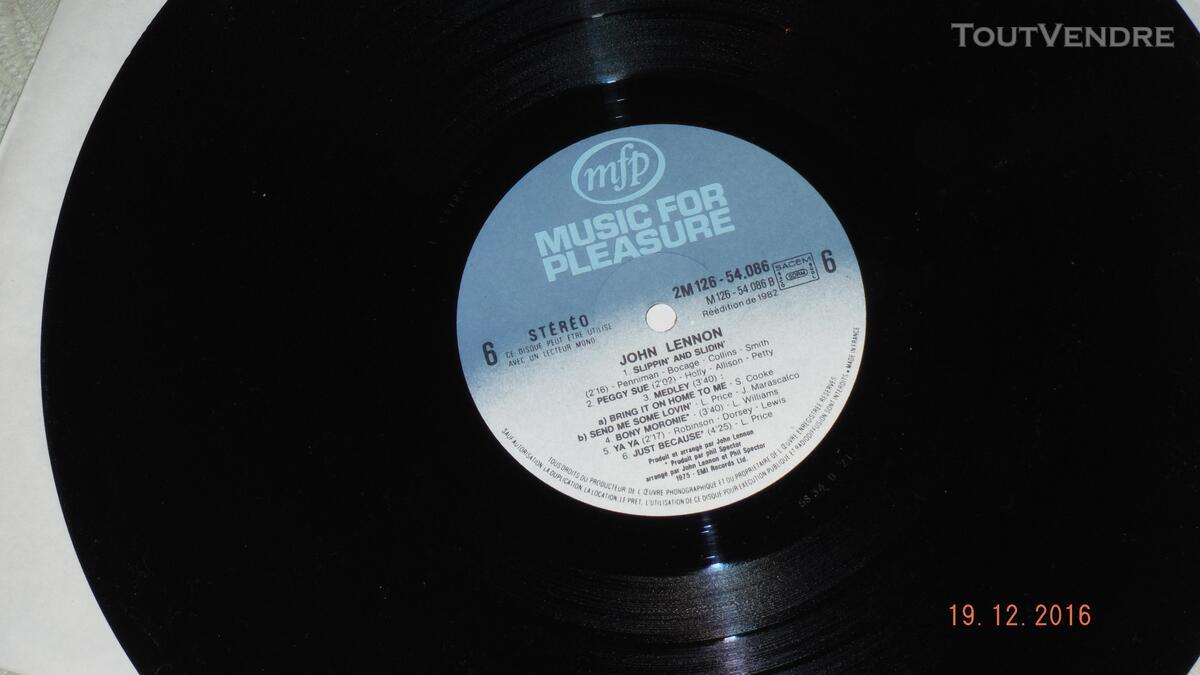 ROCK & ROLL - THE BEATLES et J.LENNON- coffret 3 disques vin 170685840
