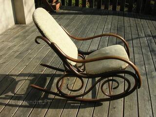 Rocking chair fauteuil bascule Art Deco style Thonet