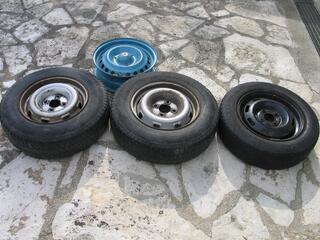 Roues Renault jante+pneu
