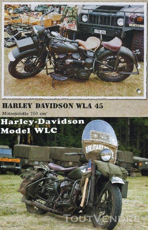 RTM Harley Davidson WLA & WLC U.S 755806656