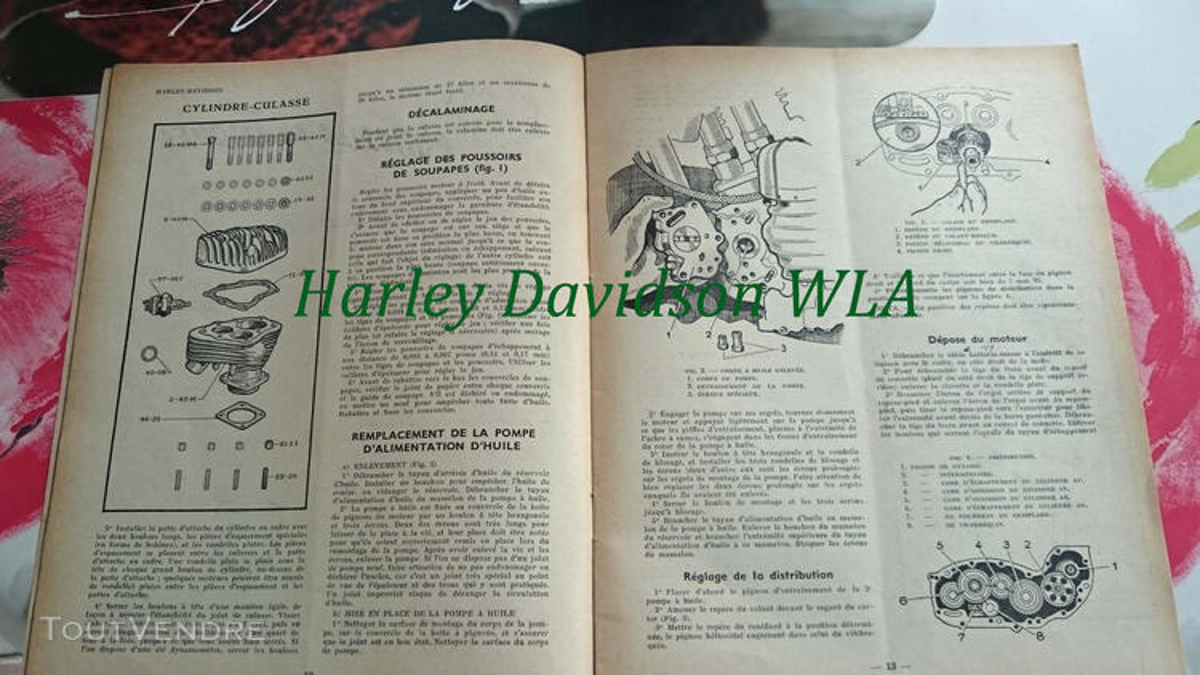 RTM Harley Davidson WLA & WLC U.S 755806659