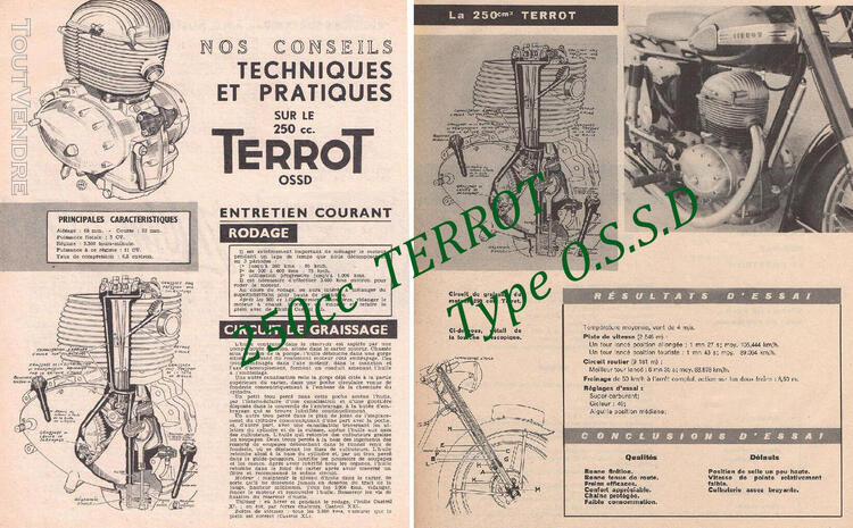 RTM pour 100 – 125 – 250 TERROT 758717393