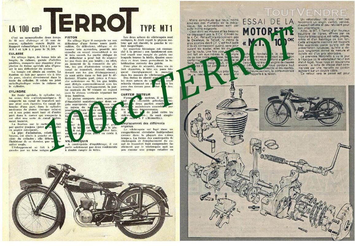 RTM pour 100 – 125 – 250 TERROT 758717507