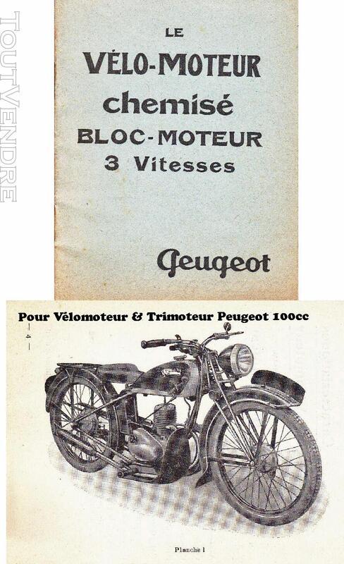 RTM pour 100 Peugeot & Triporteur 100 Peugeot 531323673