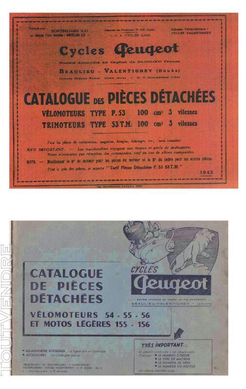 RTM pour 100 Peugeot & Triporteur 100 Peugeot 558469697