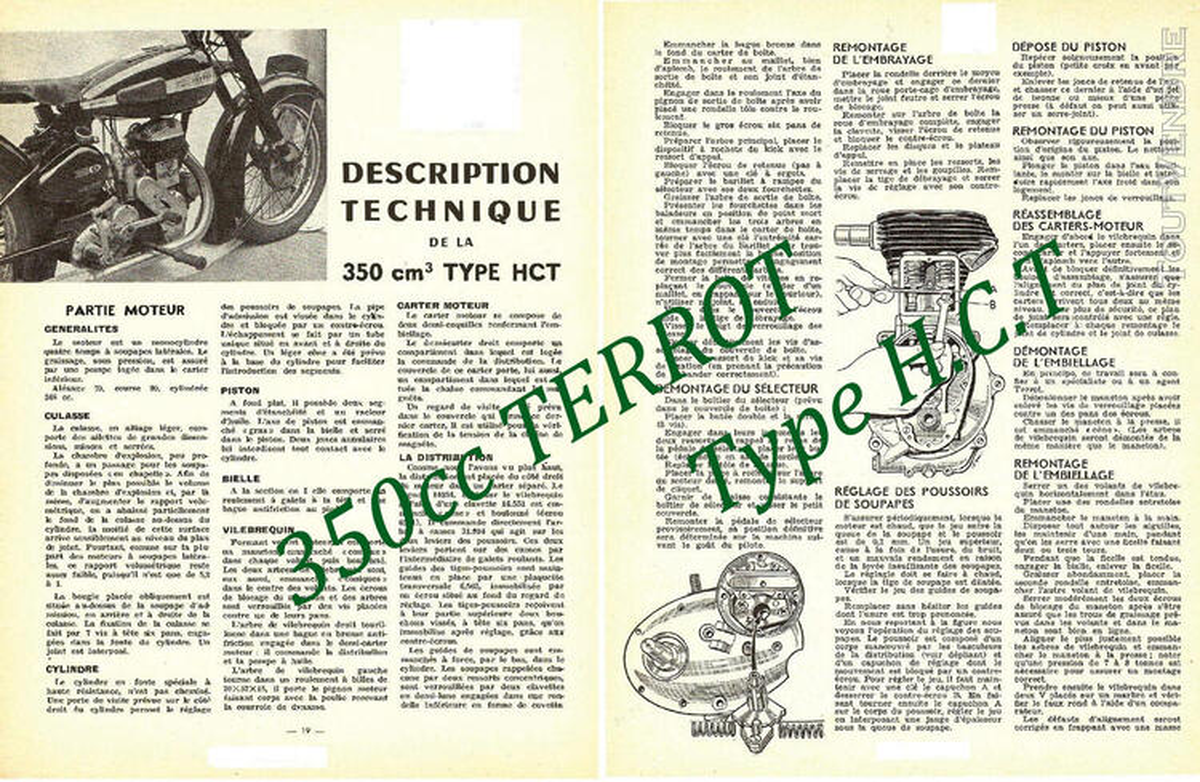 RTM pour 350 & 500 TERROT 758727738