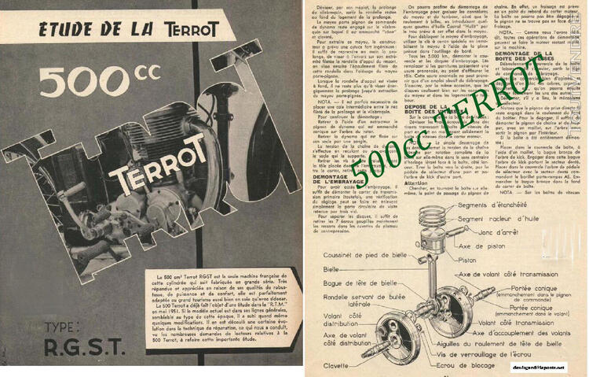 RTM pour 350 & 500 TERROT 758727744