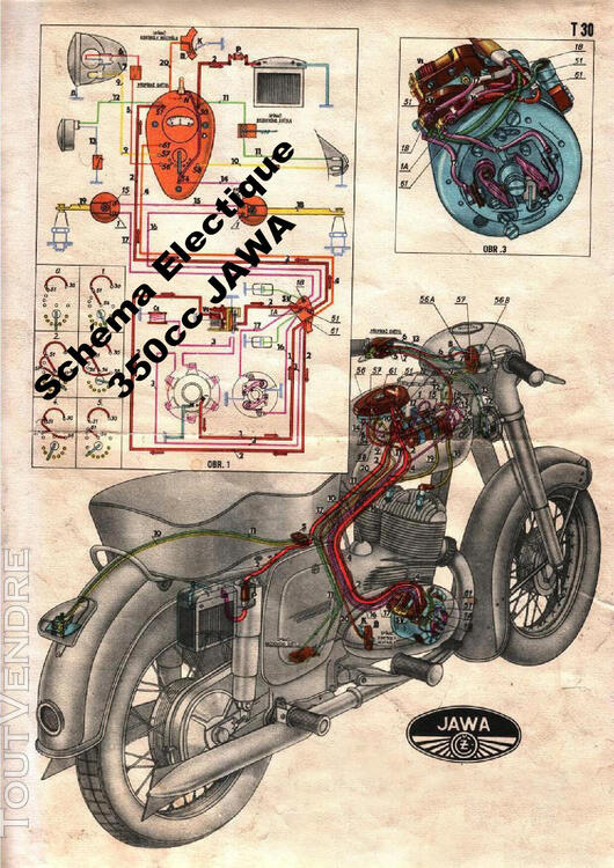 RTM pour Moto JAWA - CZ en Français 760347704