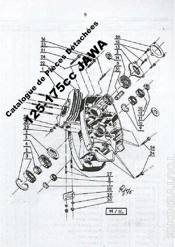 RTM pour Moto JAWA - CZ en Français 760347707