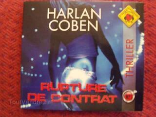 RUPTURE DE CONTRAT de HARLAN COBEN