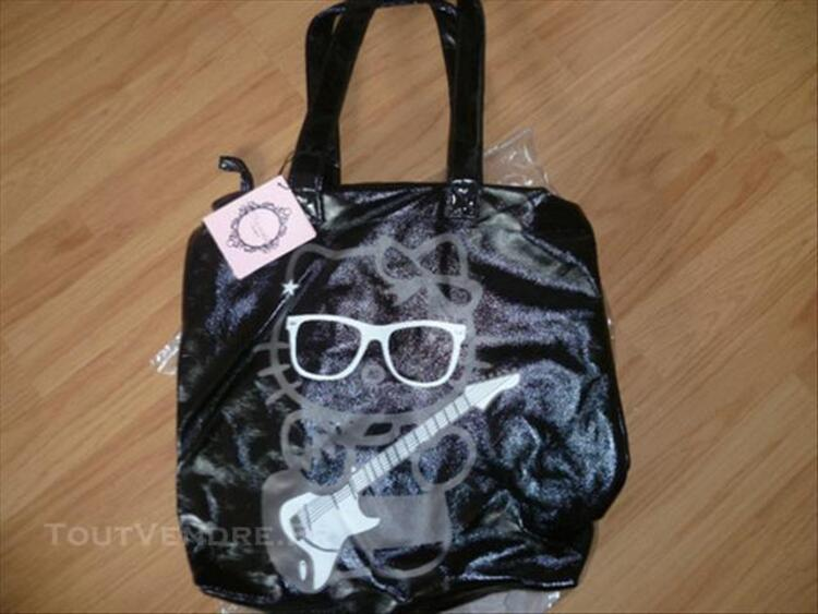 Sac a main noire HELLO KITTY by VICTORIA COUTURE 77522548