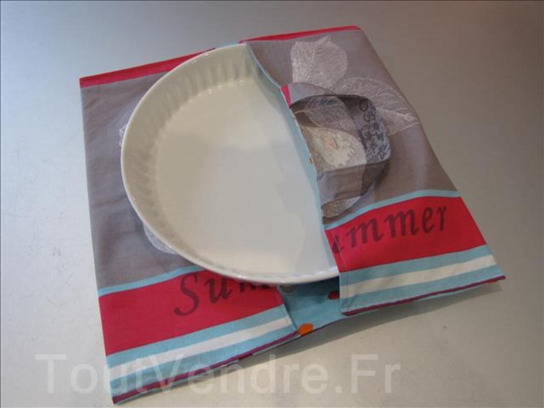 """Sac à tarte ou porte tarte doublé """"fruits"""" 100799872"""