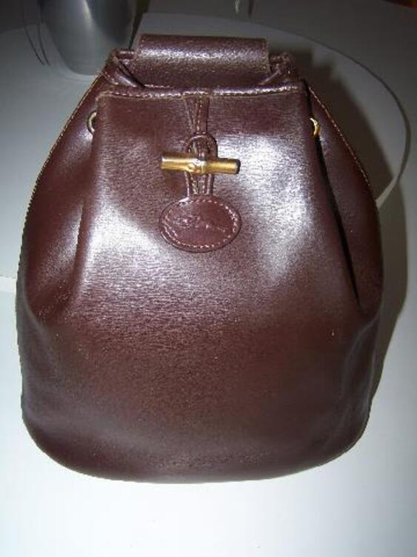 Sac cuir brun Longchamp ORIGINAL 25€ 92728766