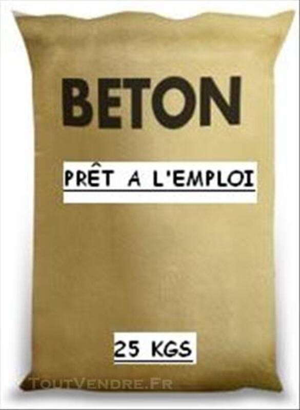 SAC DE BETON PRÊT A L'EMPLOI 82470025